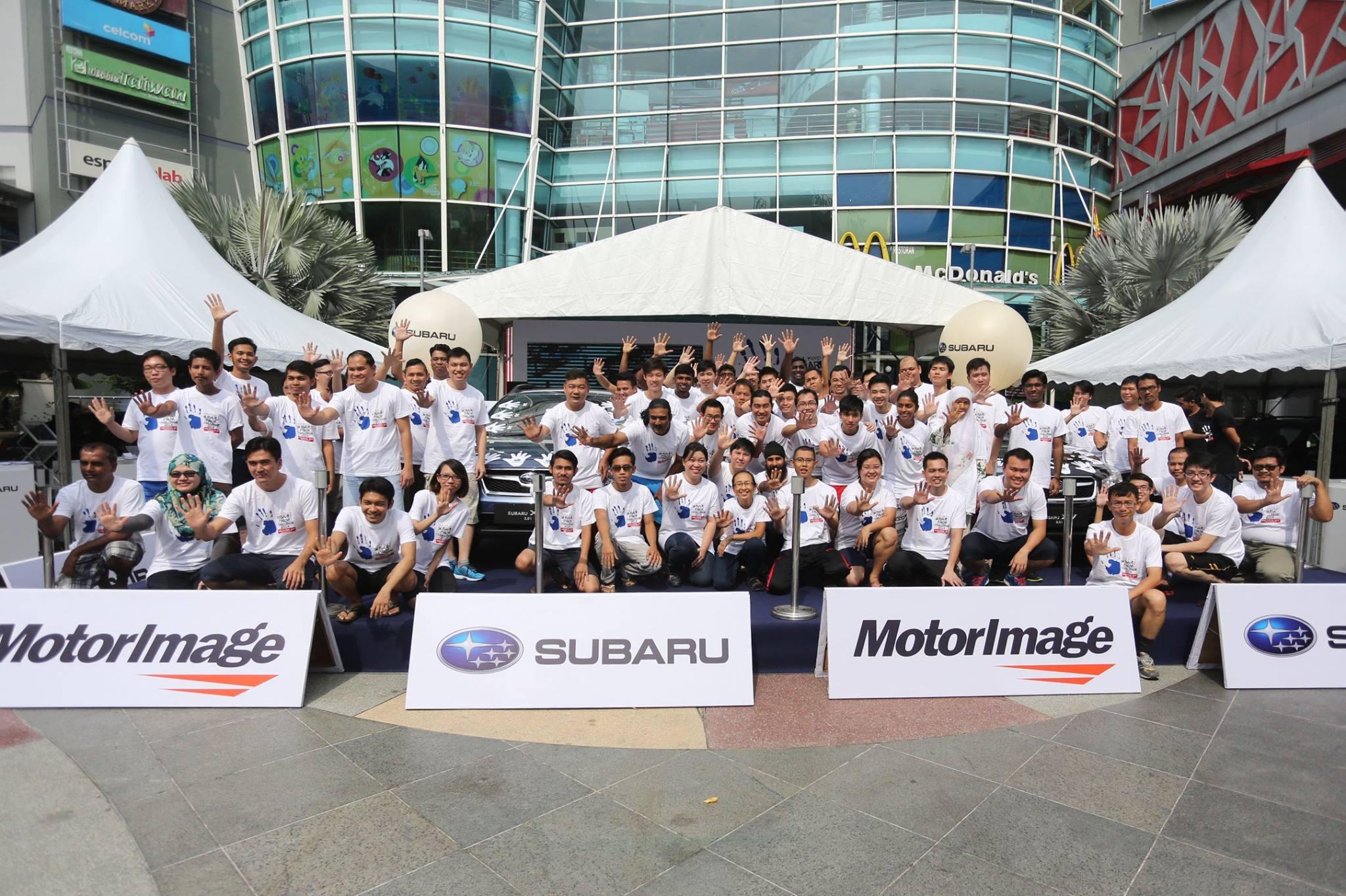 Subaru Malaysia Palm Challenge