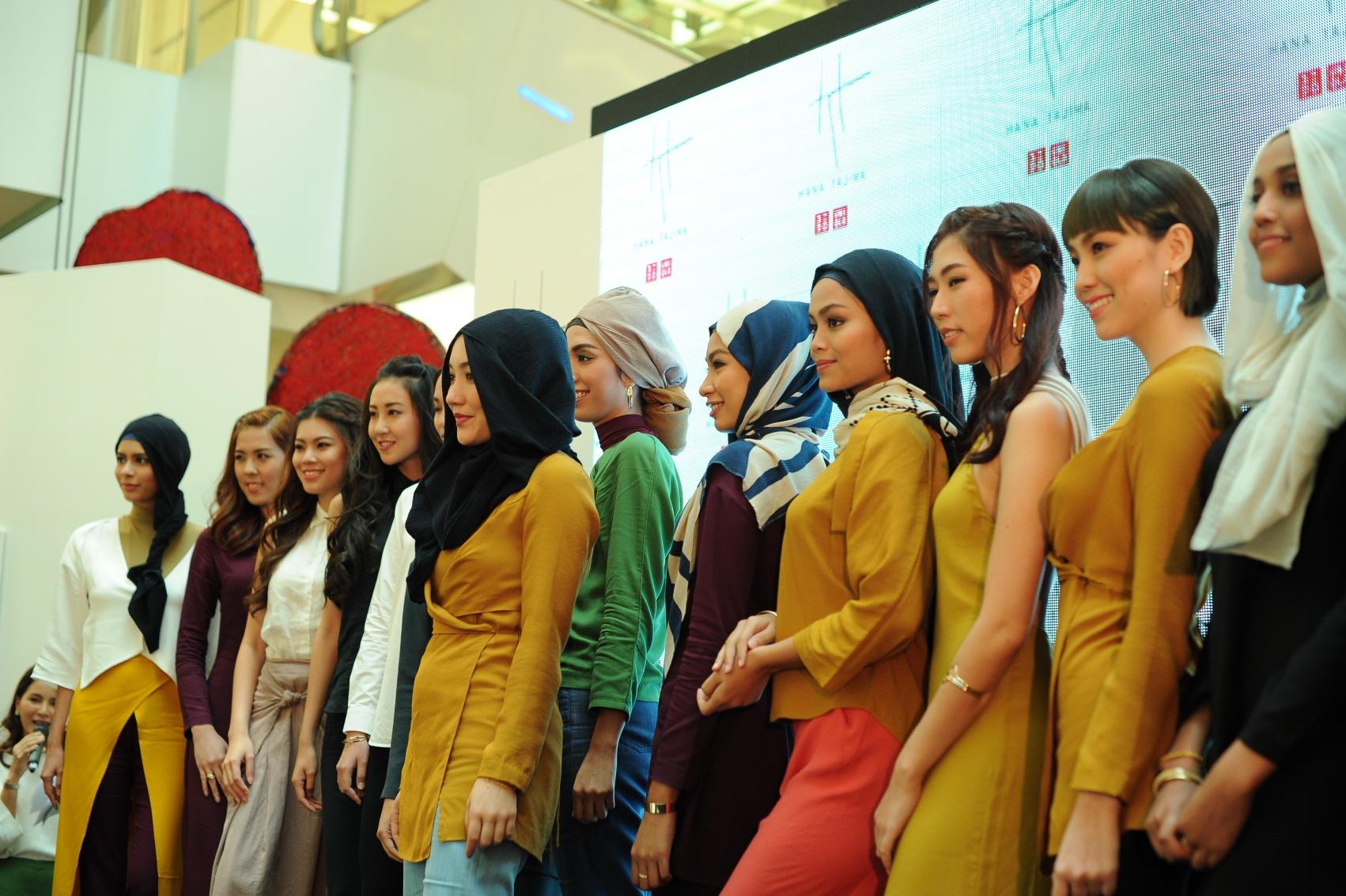 Uniqlo Fashion Show & Launch