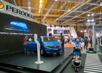 Perodua at Malaysia Auto Show 2018