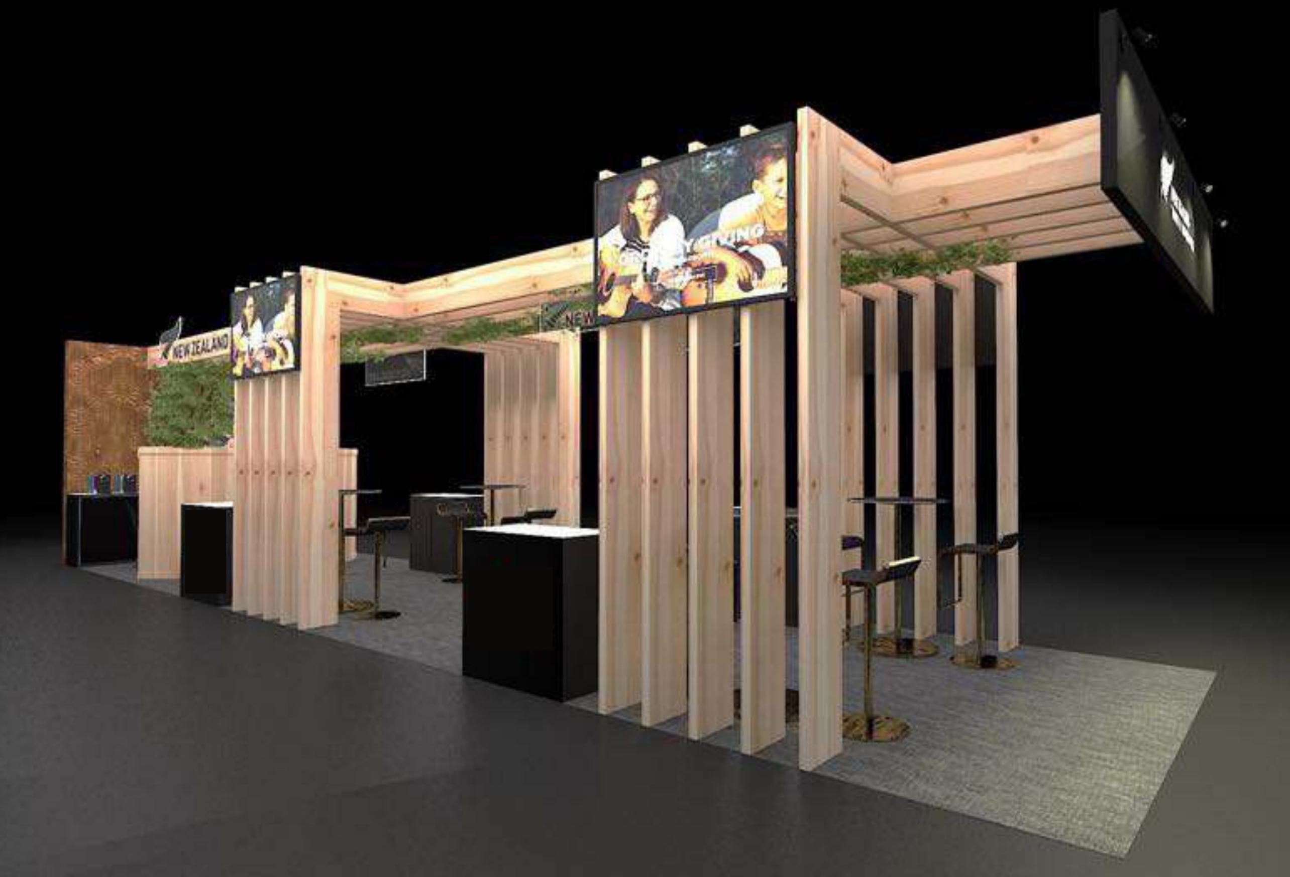 New Zealand Pavilion 3D Design