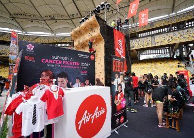 Air Asia at Music Run